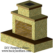 Pima II Fireplace