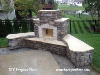 Douglas Fireplace